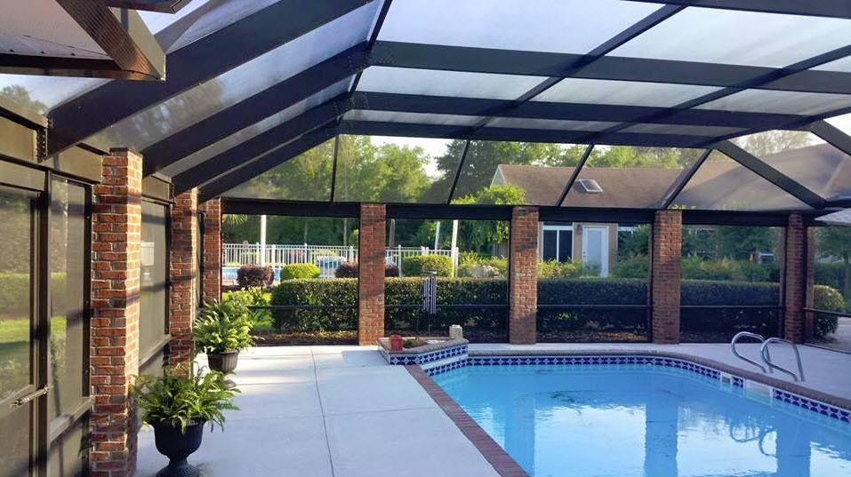 Pool enclosure kits about us pool screen naples for Swimming pool enclosures cost