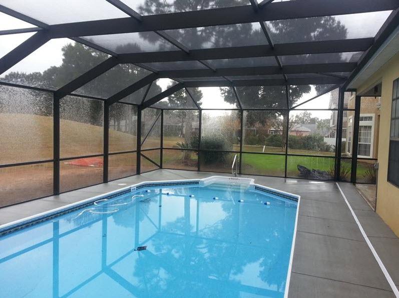Screened Pool Enclosure Breeze Enclosures Gulf Breeze